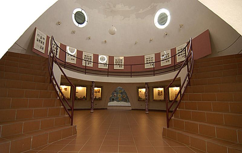 Arquitectura_Museo Del Cemi_Puero Rico imagen  escalera acceso