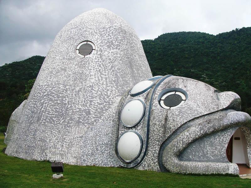 Arquitectura_Museo Del Cemi_Puero Rico_ vista lateral