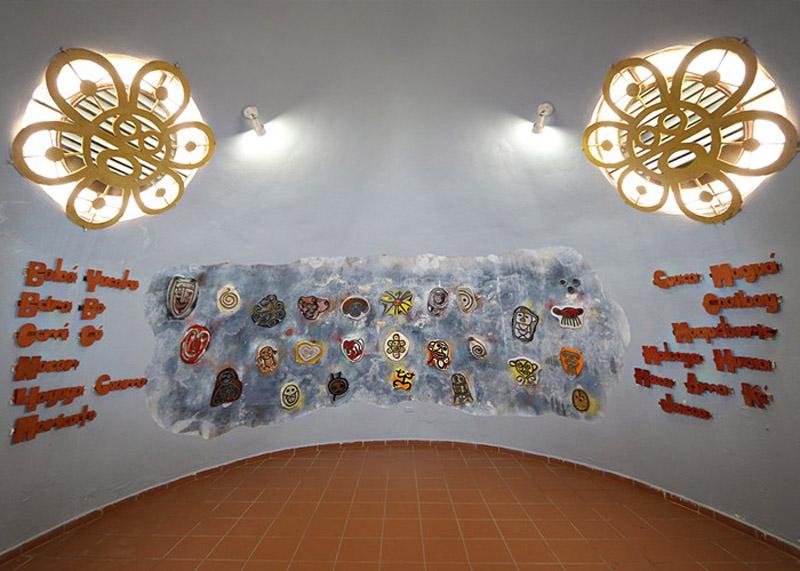 Arquitectura_Museo Del Cemi_Puero Rico _imagen mural