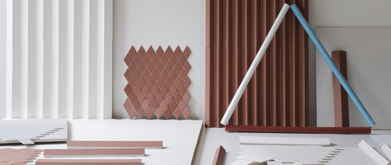 arquitectura, arquitecto, tecnología, materiales, cerámica, Murina, Ronan y Erwan Bouroullec, Rombini