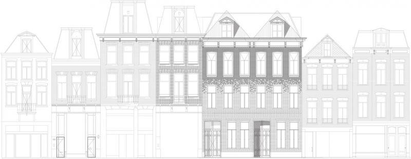 MVRDV Crystal Houses Amsterdam fotografia plano fachada