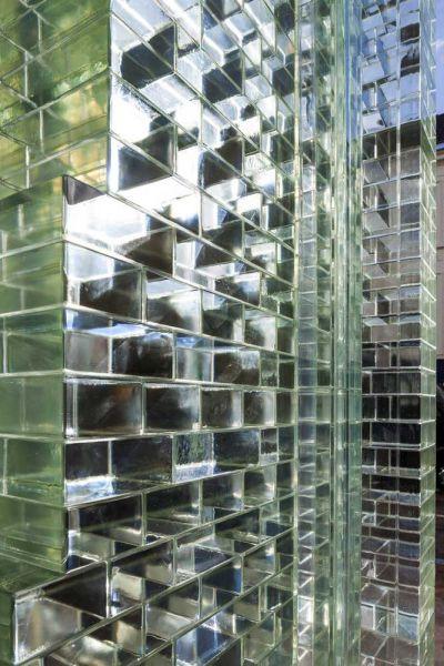 MVRDV Crystal Houses Amsterdam fotografia detalle