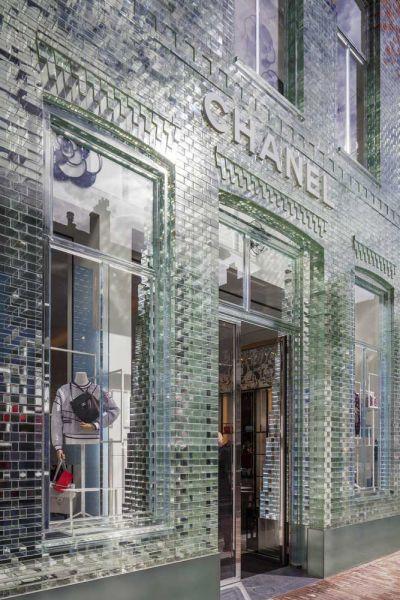 MVRDV Crystal Houses Amsterdam fotografia fachada acceso