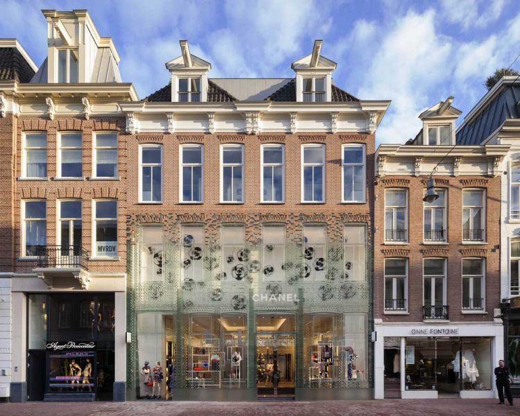 MVRDV Crystal Houses Amsterdam fotografía fachada