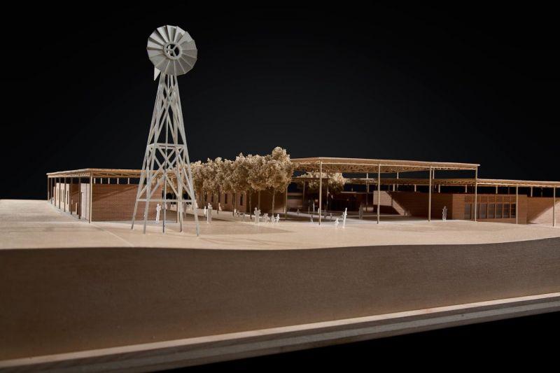 arquitectura_mwabwindo school_maqueta