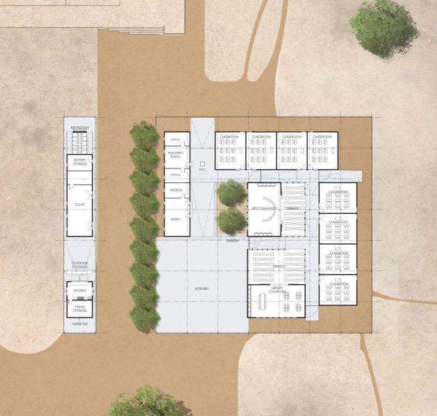 arquitectura_mwabwindo school_planta 2