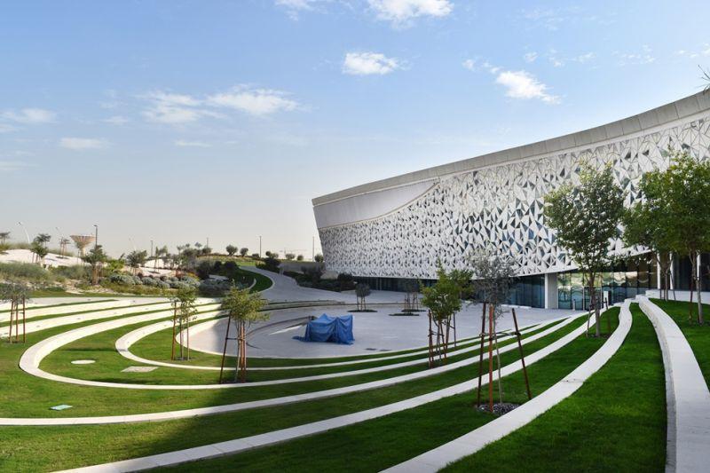 arquitectura_MYAA_facultad estudios islámicos_alzado2