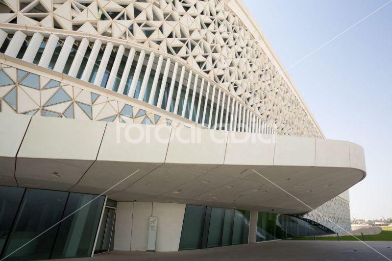 arquitectura_MYAA_facultad estudios islámicos_detalle fachada