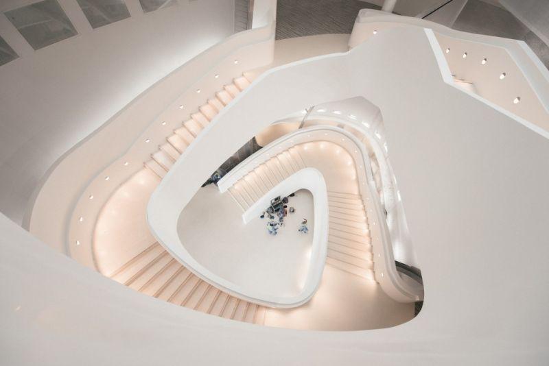 arquitectura_MYAA_facultad estudios islámicos_escalera