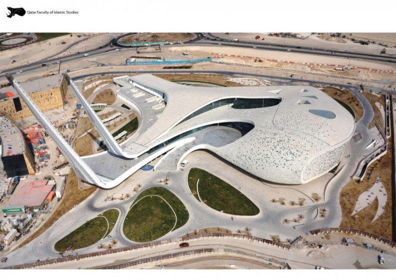 arquitectura_MYAA_facultad estudios islámicos_imagen aérea