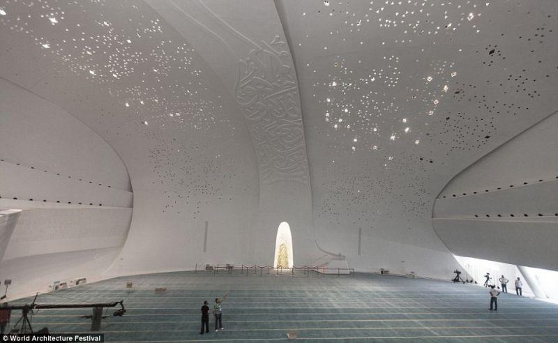 arquitectura_MYAA_facultad estudios islámicos_interior