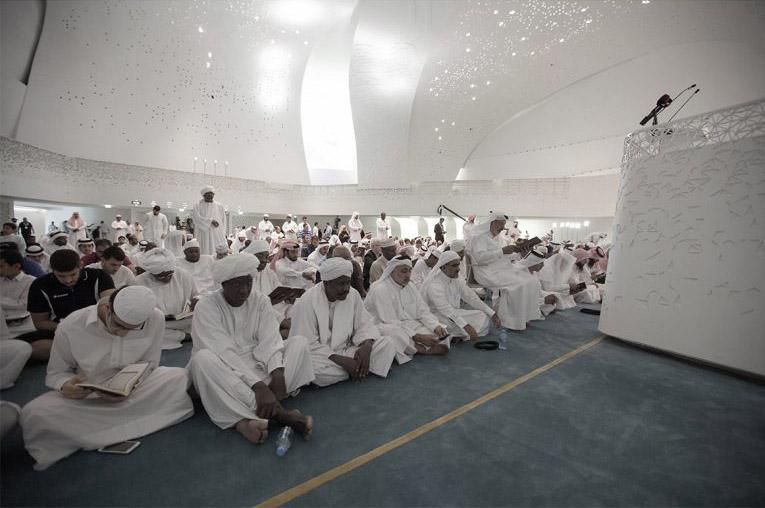 arquitectura_MYAA_facultad estudios islámicos_patio2