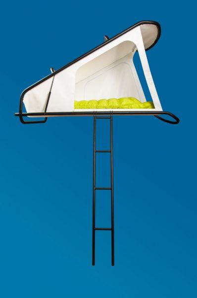 arquitectura sebastian maluska nest tienda de campaña foto escalera