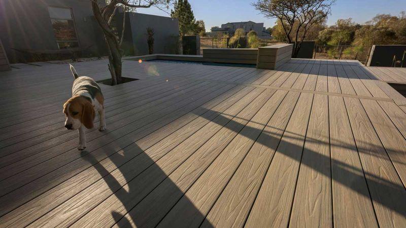 arquitectura y empresa newtechwood ultrashield terraza exterior