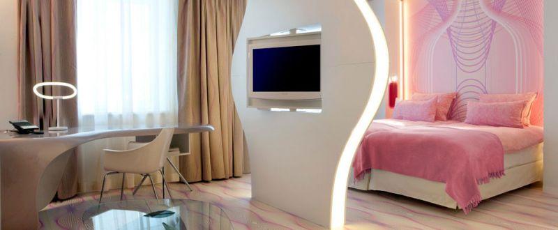 arquitectura y empresa NH hotels group imagen habitacion berlin
