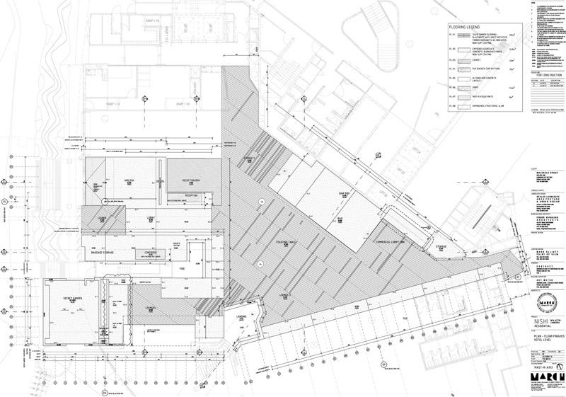 Arquitectura_ Nishi Commercial lobby Hotel__planta 2