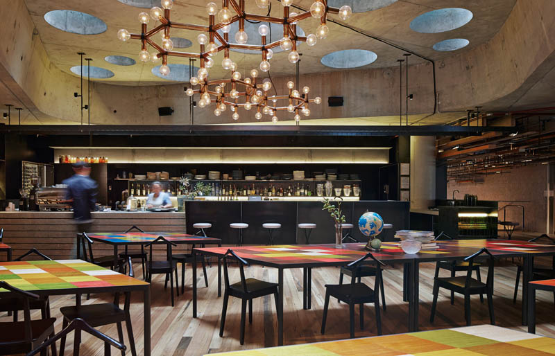 Arquitectura_ Nishi Commercial lobby Hote__imagen del bar