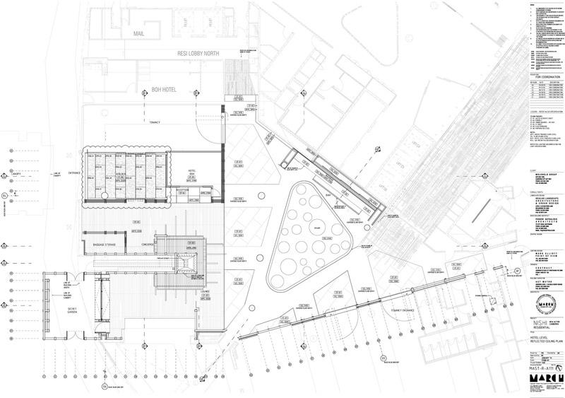 Arquitectura_ Nishi Commercial lobby Hotel_ planta 1