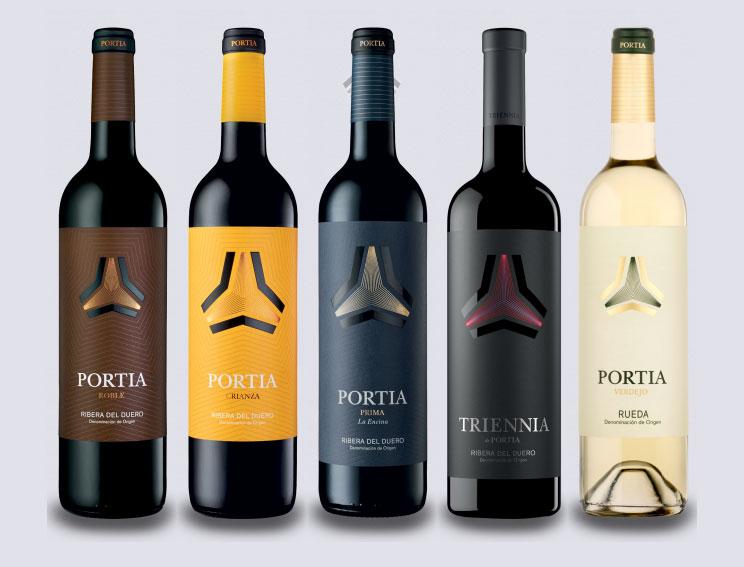 arquitectura bodegas portia grupo faustino Foster and Partners botellas vino