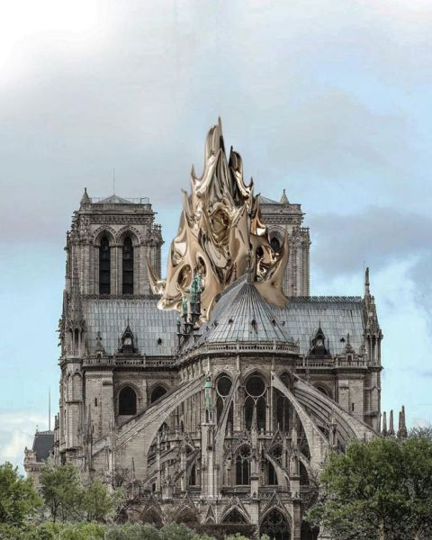 arquitectura arquitectura y empresa reconstruccion notre dame mathieu lehanneur