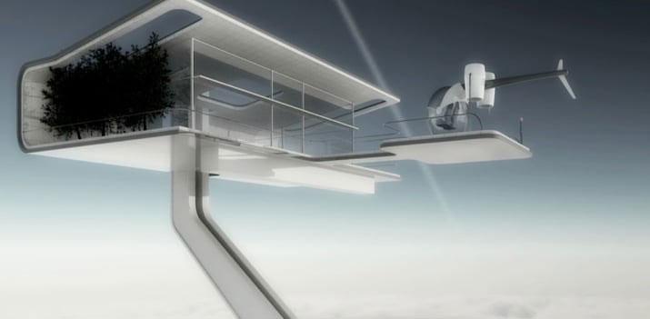 Sky Tower de Oblivion Josehp Konsinski render