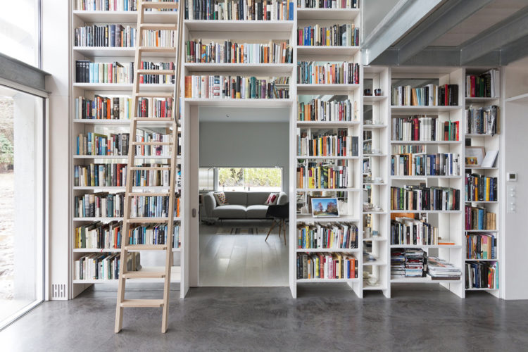 arquitectura_Old shed new house_biblioteca