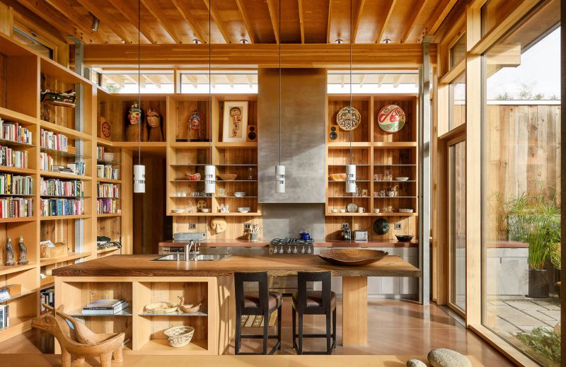 arquitectura_Olson Kundig_City cabin_cocina