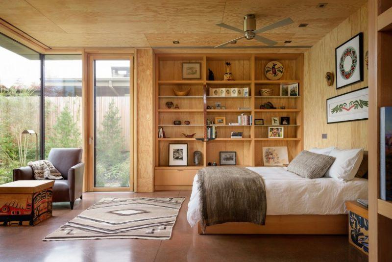 arquitectura_Olson Kundig_City cabin_dormitorio