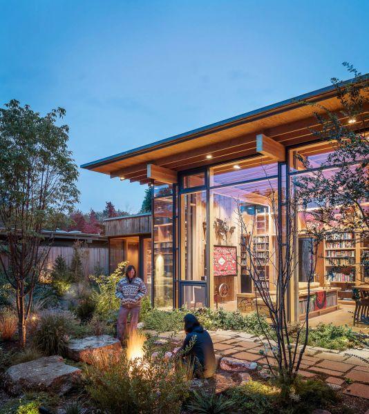 arquitectura_Olson Kundig_City cabin_JARDÍN