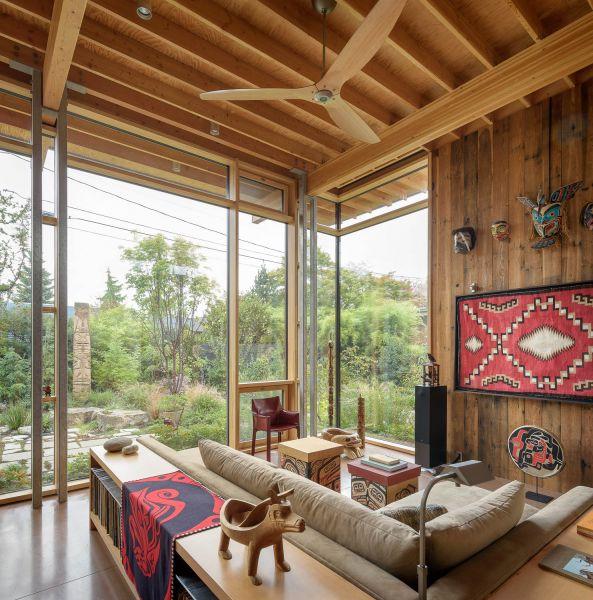arquitectura_Olson Kundig_City cabin_salón