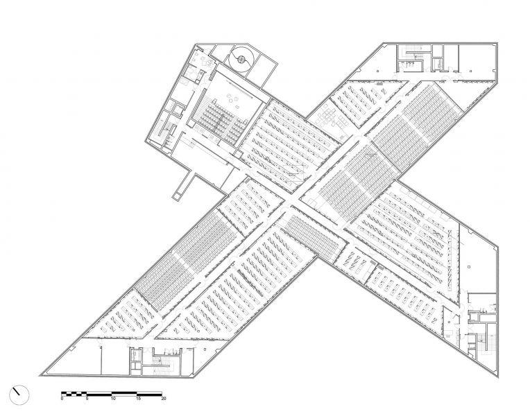 arquitectura OMA_biblioteca Caen_P-1