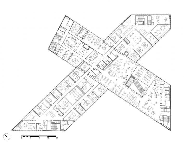 arquitectura OMA_biblioteca Caen_P2