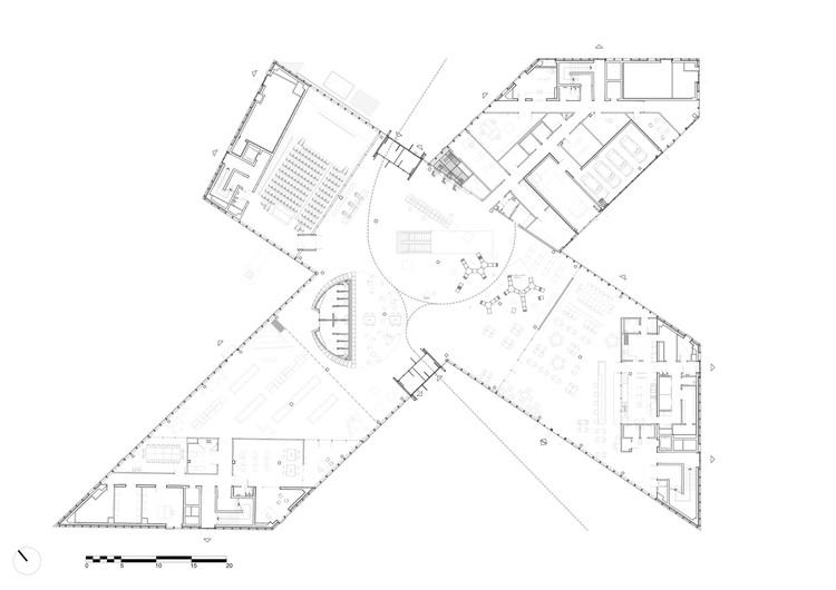 arquitectura OMA_biblioteca Caen_PB