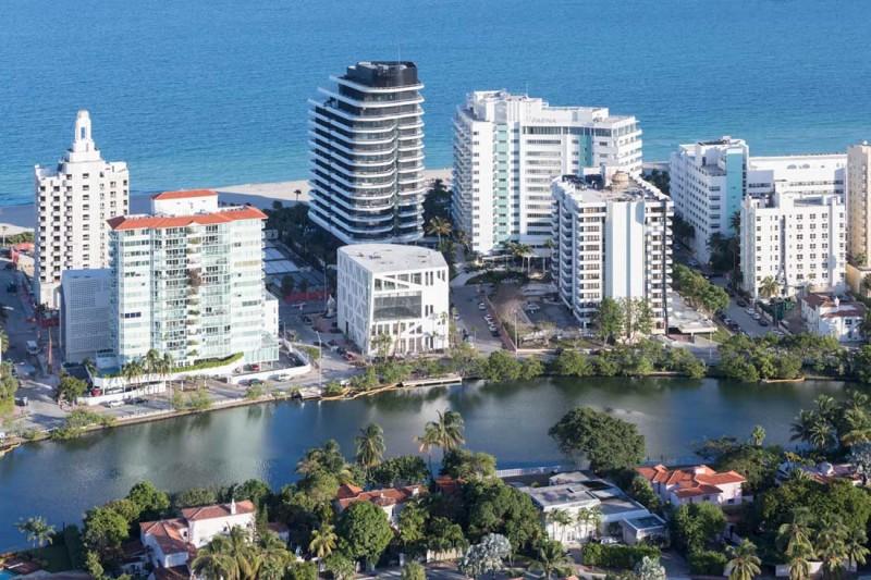 Distrito Faena de OMA en Miami fotografía de Iwan Baan
