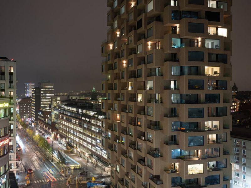 arquitectura Norra Tornen OMA Reiner de Graaf Torre Innovationen fotografía exterior Ossip van Duivenbode