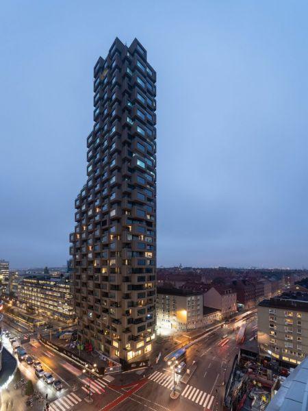 arquitectura Norra Tornen OMA Reiner de Graaf Torre Innovationen fotografía exterior Ossip van Duivenbode edificio