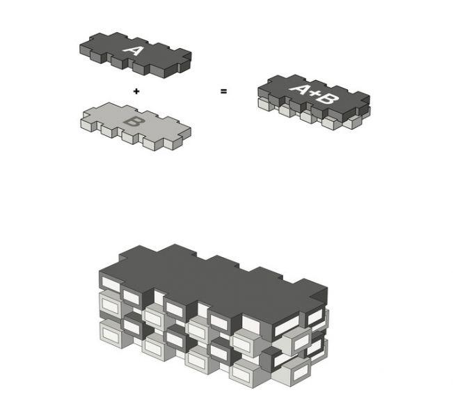 arquitectura Norra Tornen OMA Reiner de Graaf Torre Innovationen axonometria