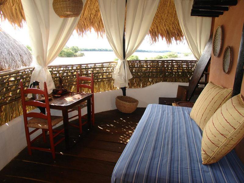 Arquitectura_Orinoquia Lodge _ vista desde la habitación hacia Orinoco