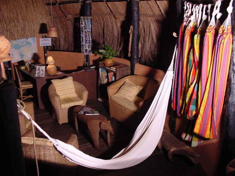 Arquitectura_Orinoquia Lodge _ vista de zona de suvernir