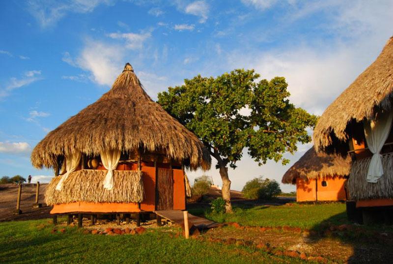 Arquitectura_Orinoquia Lodge _vista zona exterior del campamento churata