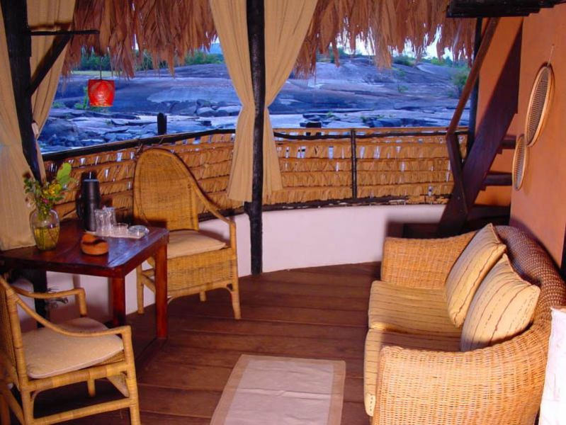 Arquitectura_Orinoquia Lodge _ vista desde la ventana de churata