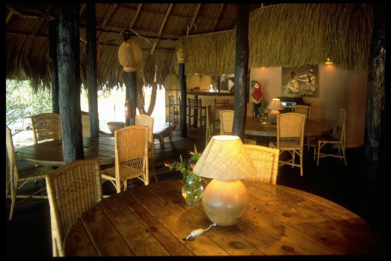 Arquitectura_Orinoquia Lodge - imagen de antesala comedor estar