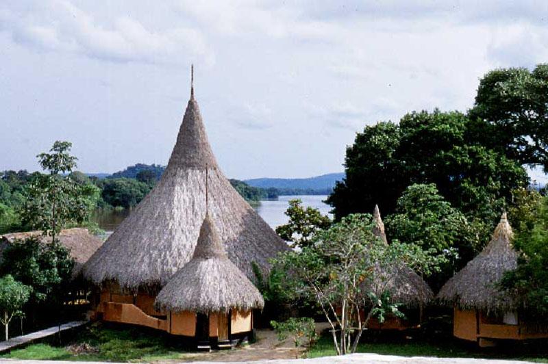 Arquitectura_Orinoquia Lodge _ vista general campamento