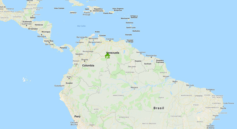 Arquitectura_Orinoquia Lodge _ mapa ubicacion