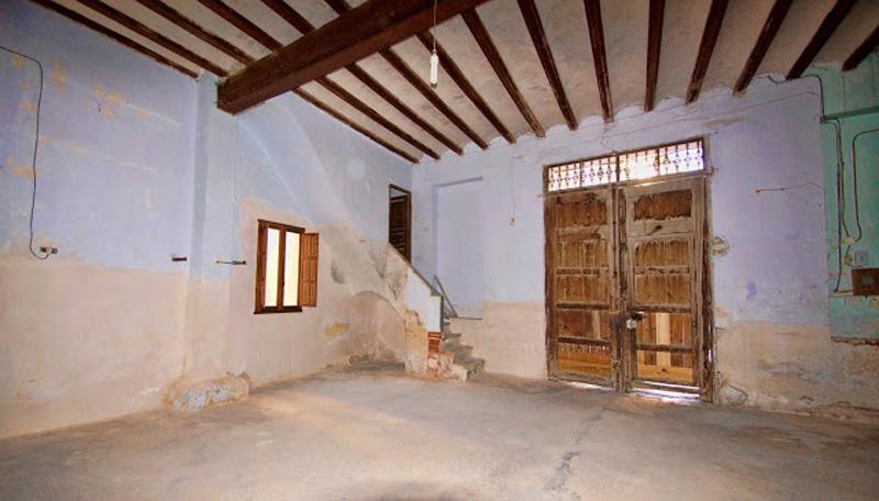 Arquitectura Interior del palacio techumbre