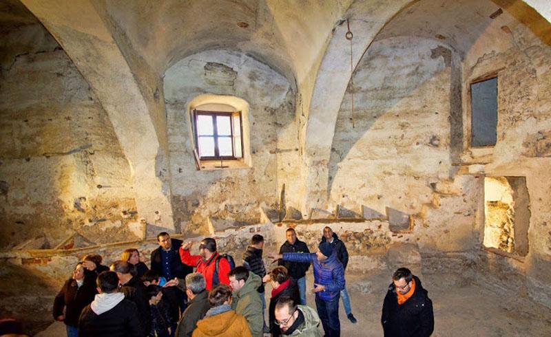 Arquitectura interior del Palacio Vizcondal de Chelva