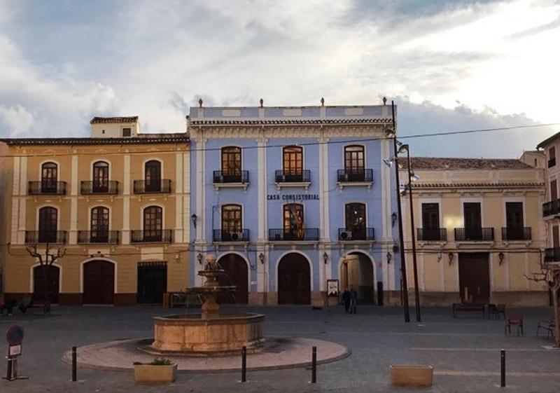 Arquitectura Plaza de Chelva