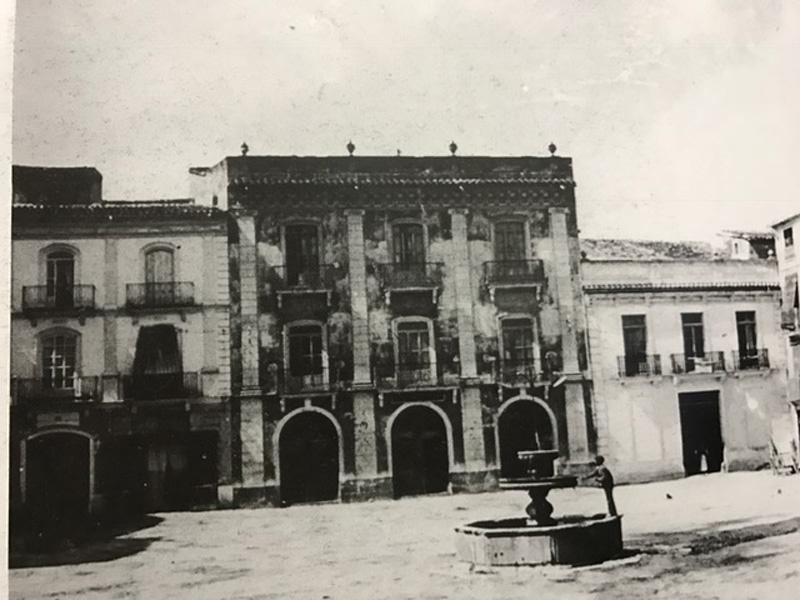 Arquitectura imagen palacio Vizcondal Chelva antigua