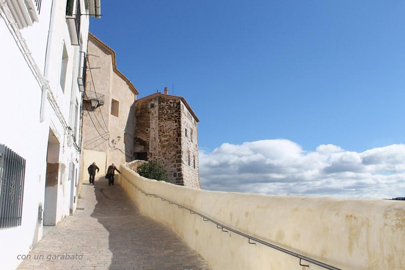 Arquitectura entorno palacio chelva