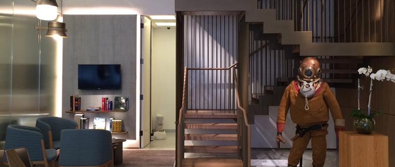 arquitectura, arquitecto, diseño, interiorismo, design, Patricia Urquiola, Officine Panerai, Miami, Boutique, tienda, shop, interior, madera, mármol, bronce